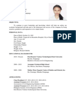 Revise Resume Earl With Picture