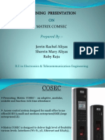 Matrix Presentation