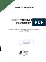Alecsandri Vasile - Buchetiera din Florenta