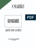 Petro Marko. Interviste Me Veteveten