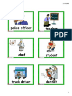 Flashcards Jobs