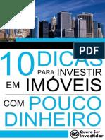 10 Dicas para Investir em Imóveis com Pouco Dinheiro