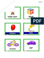 Toys Flashcards