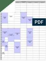 Emplois Du Temps Droit de La Santé 2014-2015