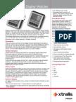09363 08 VESDA Display Modules TDS A4 Lores