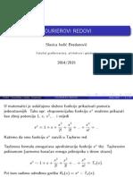Fourierovi Redovi 2014-2015 Web
