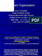 Jerry Campbell Program Organization