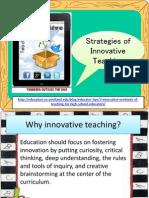 Strategies of Innovative Teaching