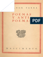 Parra Nicanor - Poemas Y Antipoemas
