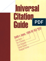 Universal Citation Guide