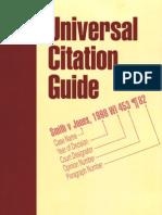 Universal Citation Guide
