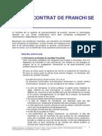Le Contrat de Franchise