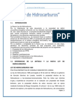 Ley de Hidrocarburos Grupal 1