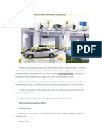 Parking Guidance System Wireless Networking Application