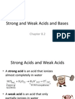 82 Strong and Weak Acids and Bases