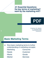 1.01 Marketing Terms PowerPoint
