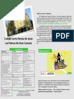 Folleto Familias Teresianas Colegio 2014