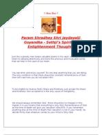 Spiritual Enlightenment Thoughts by Param Shradhey Shri Jaydayalji Goyandka-Sethji in english
