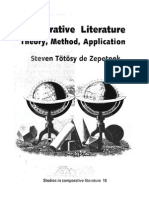 Comparative Literature Theory Method Application