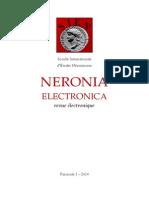 Neronia Electronica Fascicule 3