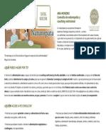Consulta Naturopatia y Coaching Nutricional Ana Moreno