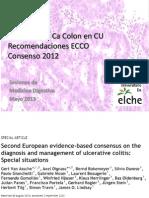 Ca Colon en EII recomendaciones ECCO