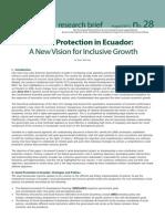 Proteccionismo Social en Ecuador