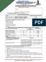 INFORME ACADÉMICO 1er Q. 2013-2014.2°BGU.C