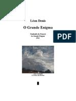 Leon Denis - O Grande Enigma