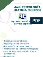 Psicolog y Psiquiatría Forense