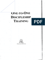 One to One Discipleship