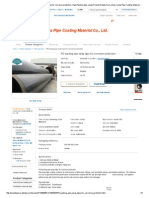 PE Backing Pipe Wrap Tape for Corrosion Protection