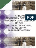 Panduan Belajar Autocad Land Development 2009