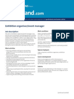 Exhibition Organiser, Event Manager