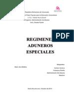 Los Regímenes Aduaneros Especiales Son Un Conjunto de Normas