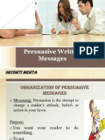 Persuasive Written Messages
