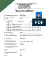Biodata Wajib Jurusadfafan