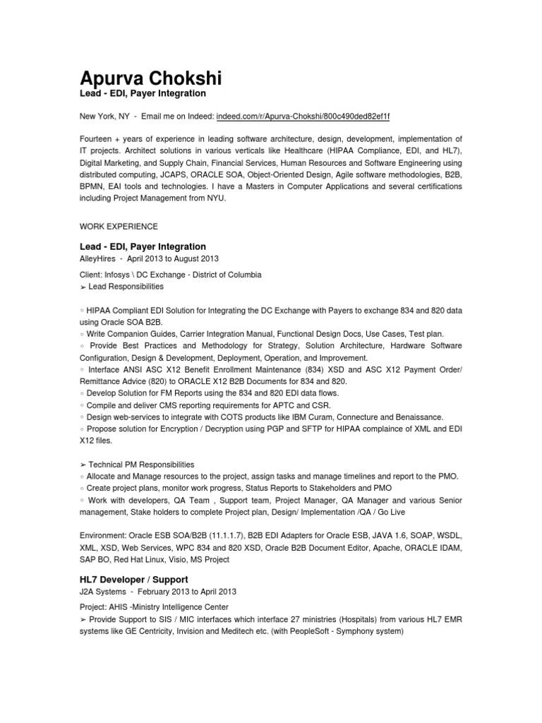 Apurva Chokshi Oracle Database Oracle Corporation