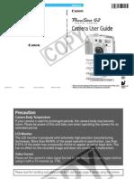 Canon Powershot G2 Manual
