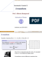 Z transform