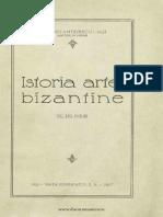 Istoria Artei Bizantine