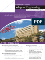 2015 Summer Research Program Flyer