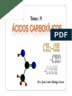 9. Ácidos carboxílicos