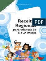Receitas Regionais Para Crianças de 6 a 24 Meses
