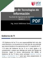 UCV Gobierno de TI_Sesion 10