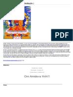 Amitaba Budismo Português Brazil