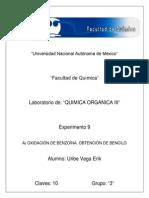 PRACTICA 9 obtencion de bencilo.docx
