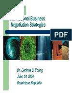 internal negotiations strategies