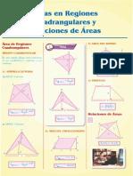 Guía 6-Áreas en Regiones Cudrangulares y Relaciones de Áreas