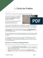 4b Clarify Problem